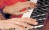 Halim's hands play piano